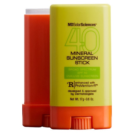 MDSolarSciences Mineral Sunscreen Stick SPF 40 - 0.6 oz.
