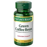 Nature's Bounty Green Coffee Bean with Raspberry Ketones & Green Tea, Capsules