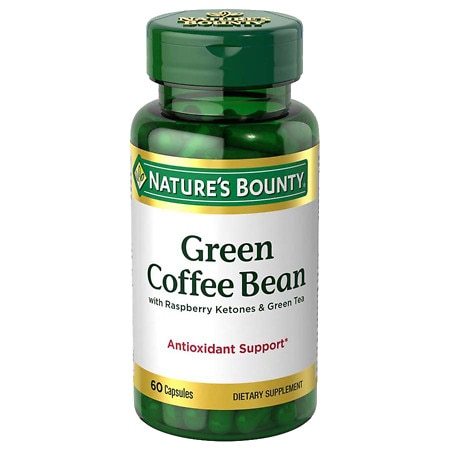 Upc 074312527104 Nature S Bounty Green Coffee Bean With Raspberry Ketones Green Tea Dietary Sup Upcitemdb Com