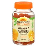 Sundown Naturals Vitamin C Gummies Orange