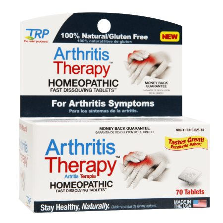 The Relief Products Arthritis Therapy Homeopathic Fast Dissolving Tablets - 70 ea