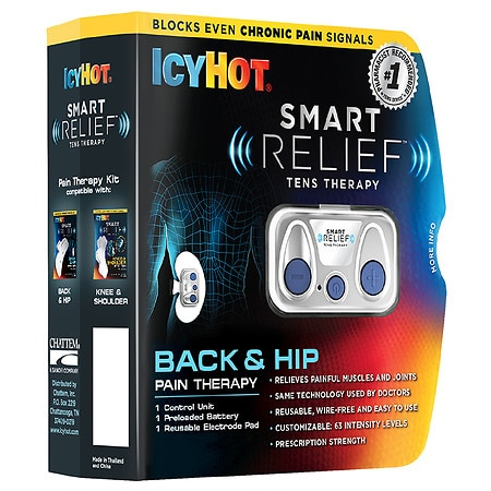 Icy Hot Smart Relief Tens Therapy Back and Hip Starter Kit - 1 ea