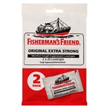 Fisherman's Friend Extra Strong Menthol Cough Suppressant Lozenges Original