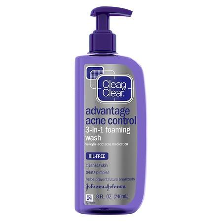 Advantage Acne Control 3-in-1 Foaming Wash
