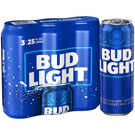 Bud Light Beer - 25 oz. x 3 pack