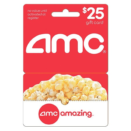 AMC Theaters $25 Gift Card - 1 ea