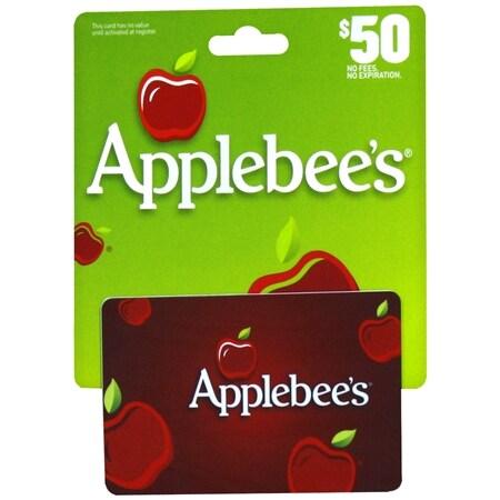 Applebees $50 Gift Card - 1 ea