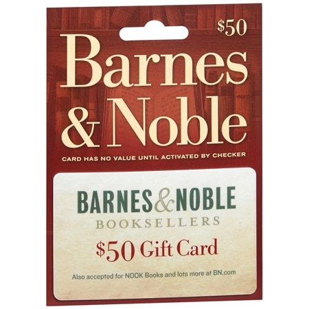 Barnes & Noble $50 Gift Card - 1 ea