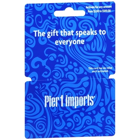Pier 1 Non-Denominational Gift Card   Walgreens
