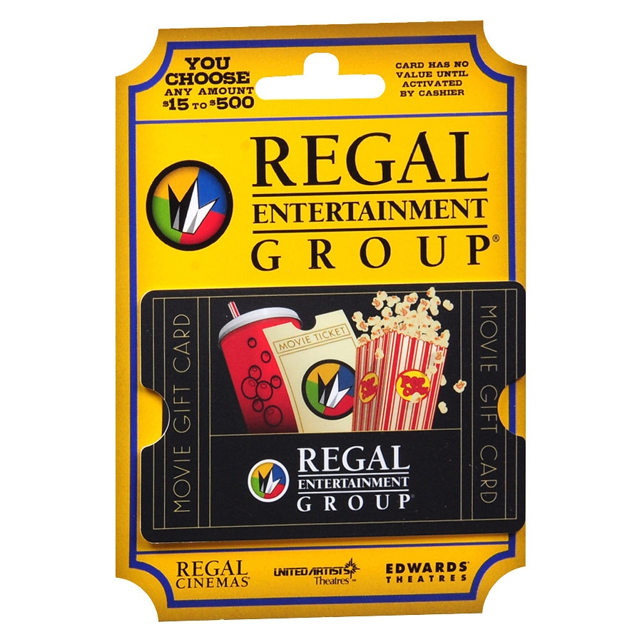 Regal Theaters Non-Denominational Gift Card | Walgreens
