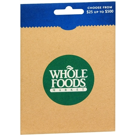 Whole Foods Gift Card Sale