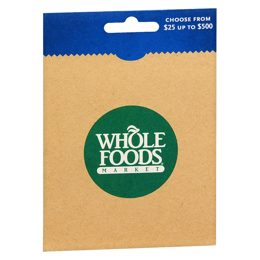 Whole Foods Non-Denominational Gift Card1.0 ea