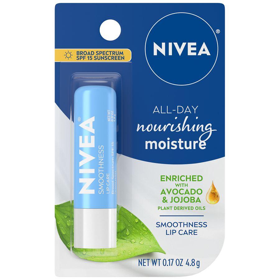 Nivea Lip Care A Kiss Of Smoothness Hydrating Spf 15 Shea Moisture Sun Lotion 50 100 M Product Large Image