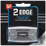 Walgreens Stainless Steel Double-Edge Blades