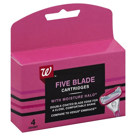 Studio 35 Beauty 5 Blade Cartridges For Women 4 Ea