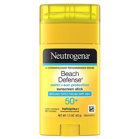 Neutrogena Beach Defense Sunscreen Stick, SPF 50+ - 1.5 oz.