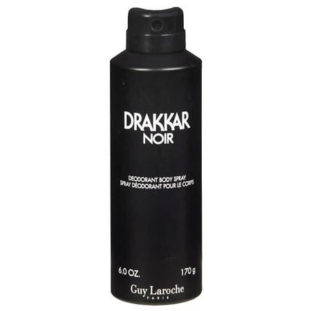 Drakkar Noir Deodorant Body Spray for Men - 6 fl oz