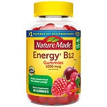 Nature Made Energy B12 1000mcg Adult Gummies Cherry & Wild Berries Cherry & Berries
