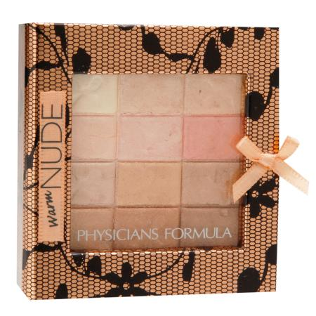 Physicians Formula Shimmer Strips All-in-1 Custom Nude Palette for Face & Eyes - 0.26 oz