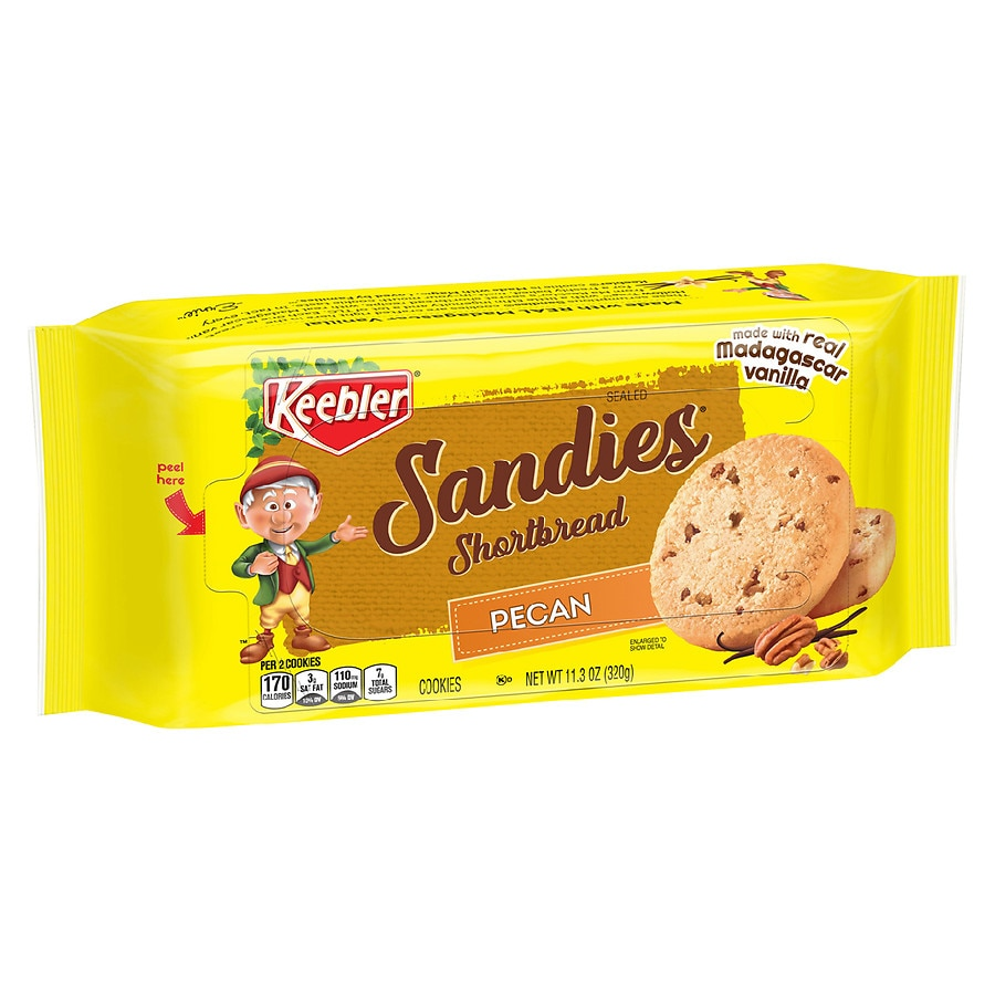Keebler Sandies Cookies Pecan Shortbread