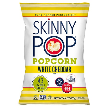 Skinny Pop Popcorn Cheddar - 4.4 oz.