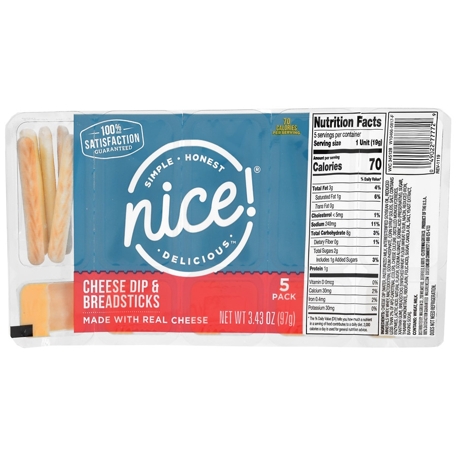 Smile & Save Cheese Dip With Breadsticks | Walgreens