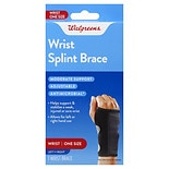 Walgreens Adjustable Splint Wrist Brace One Size