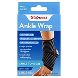 Walgreens Adjustable Ankle Support Wrap One Size