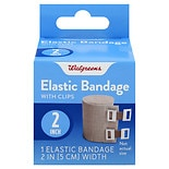 Walgreens Elastic Bandage With Clips 2 inch