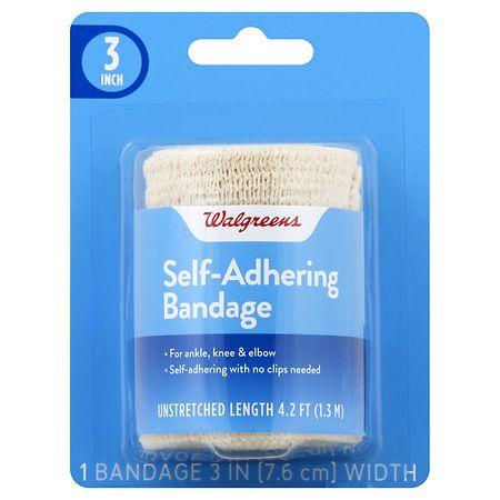 Walgreens Self-Adhering Bandage 3 inch - 1 ea