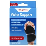 Walgreens Wrist Support One Size Black