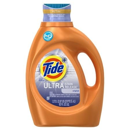 Tide Ultra Stain Release High Efficiency Liquid Laundry Detergent 48 Loads Original 92 Fl Oz