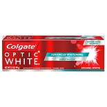 Colgate Optic White Advanced Whitening Toothpaste, Enamel Luminous Mint