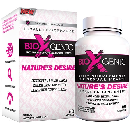 BioXgenic Nature's Desire Female Performance, Capsules - 60 ea