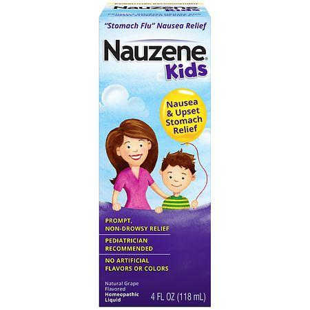 Nauzene Homeopathic Liquid Grape - 4 fl oz