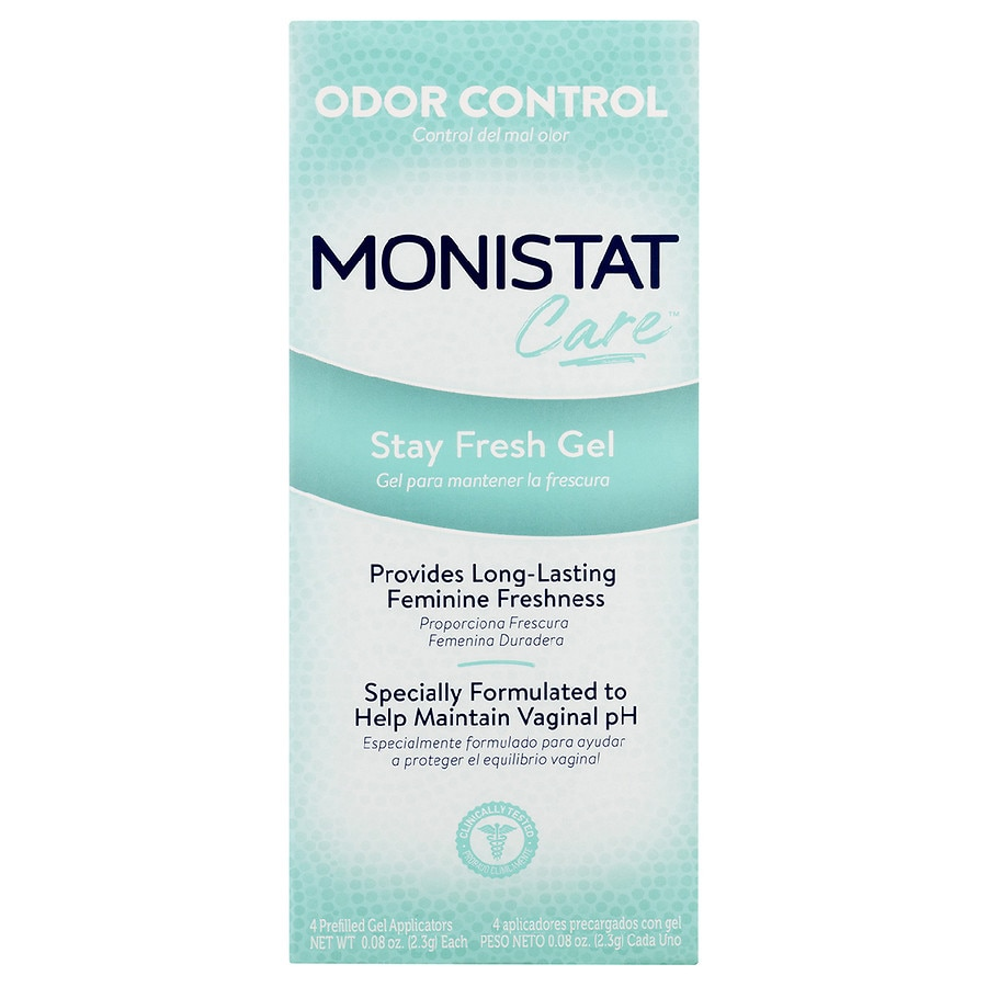 Monistat Stay Fresh Odor Control Prefilled Gel Applicators | Walgreens