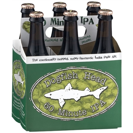 Dogfish Head 60 Minute IPA - 12 oz. x 6 pack