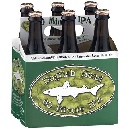 Dogfish Head 60 Minute IPA - 12 oz. x 6 pack
