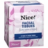 Nice! Upright Facial Tissues With Lotion