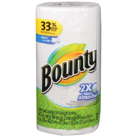 Bounty Select-a-Size Paper Towels Regular - 1 ea