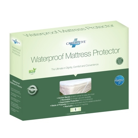Careactive Waterproof Reusable Incontinence Mattress Pad Protector Twin 1 Ea