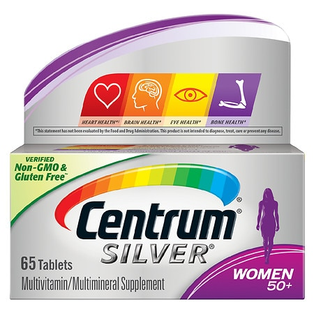 Image of Centrum Silver Women Age 50+, Complete MultivitaminMultimineral Supplement Tablet - 65 ea
