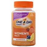 One A Day VitaCraves Women's Multivitamin Gummies Fruit