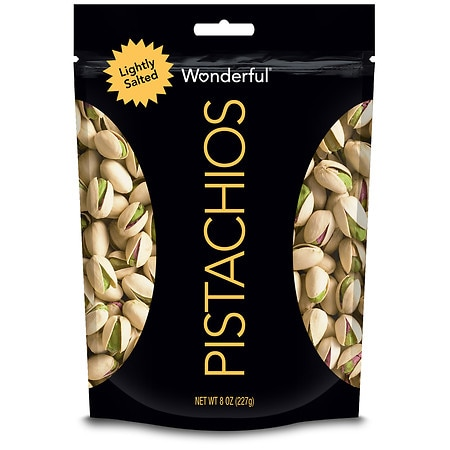 Wonderful In Shell Pistachios Roasted & Lightly Salted - 8 oz.