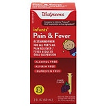Walgreens Infants' Pain & Fever Reducer Grape