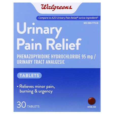 Image of Walgreens Urinary Pain Relief Tablets - 30 ea