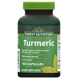 Finest Nutrition Turmeric 500mg, Capsules