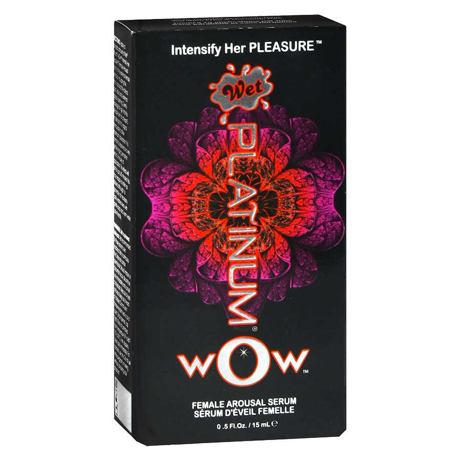 Wet Platinum Wow Female Arousal Serum