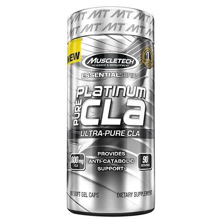 Muscletech Platinum Pure CLA, Softgels - 90 ea