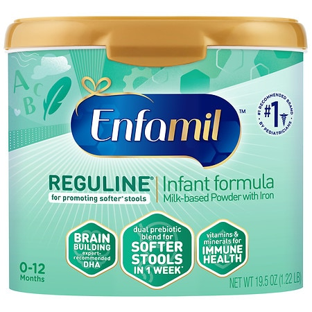 Enfamil Reguline Large Powder Tub Makes 147